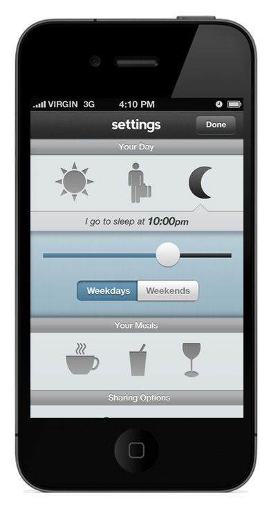 처음에 월요일부터 금요일까지 근무 요일을 수작업으로 앱의 프로그램을 짰다.